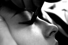 MASCHERA (‹‹ Areté ››) Tags: occhio matita viso riga maschera naso volto trucco