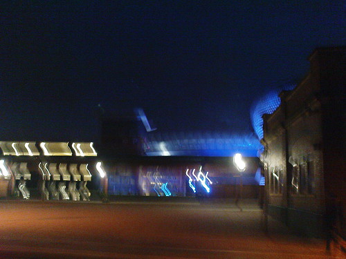 Moor Street Station and Selfridges in the Evening - Parametric Bridge