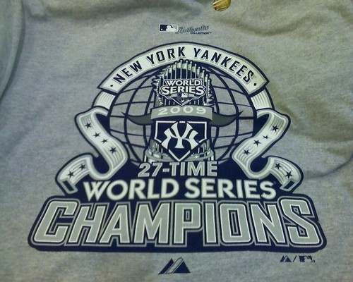 The official Yankees World Series shirt is $25 at Dick's Sporting Goods.