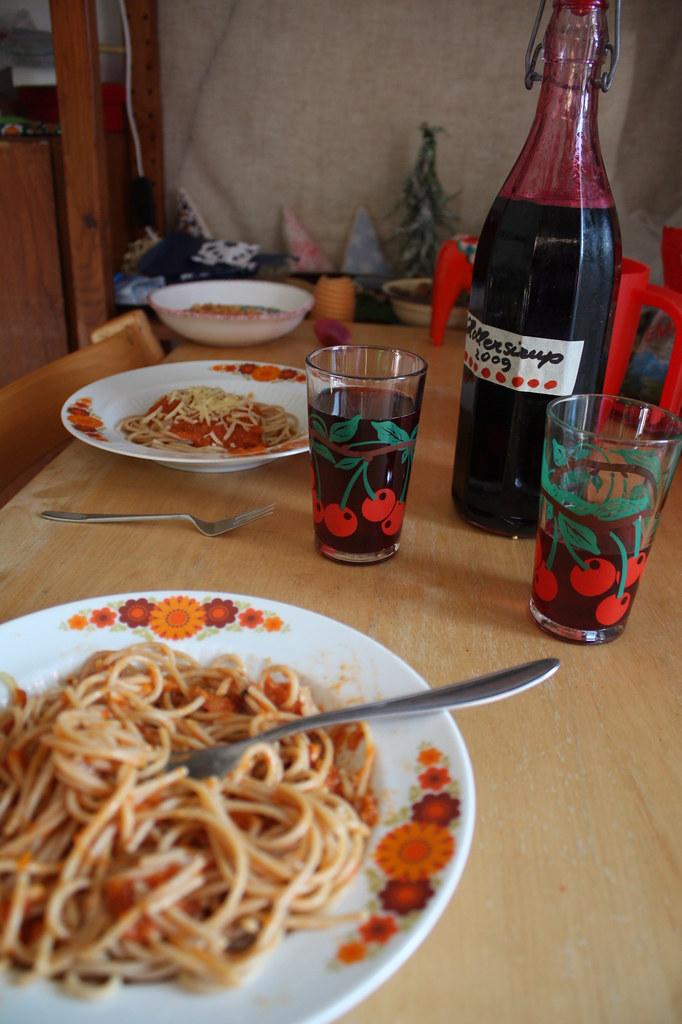 Dieses Mahl hat uns Ingrid spendiert ... gut hast kocht!