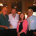 Keith Mackenzie, Don Rowe, Barbara Brown and Bill Meacham