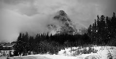 Guye Peak (Snoqualmie Summit), Washington (BHagen) Tags: blackandwhite bw panorama blackwhite nikon cascades alpental washingtonstate rockclimbing snoqualmie snoqualmiepass seattlewa guyepeak cascademountainrange guye snoqualmiesummit snowypeak d80