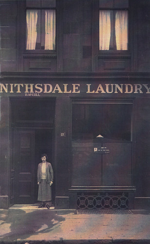 Mary McColl, Nithsdale Laundry, 1921.