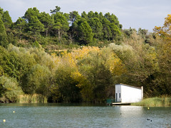 Banyoles (Guillem Calatrava) Tags: santa girona catalunya margarida gerona tardor olot banyoles estany catalua otoo volcn volc