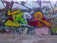 Japer (PatMaGroin) Tags: yard graffiti los angeles quarter even 2009 tdb mork japer jape queezy tdbk