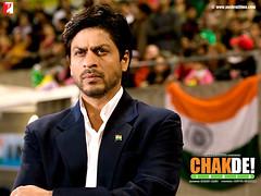 [Poster for CHAKDE! INDIA with CHAKDE! INDIA, Shimit Amin, Shah Rukh Khan, Sagarika Ghatge, Chitrashi Rawat, Shilpa Shukla, Vidya Malavade, Tanya Abrol]