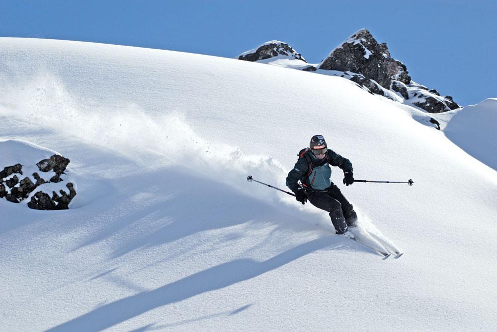 Test Freeski lyží 2008/2009