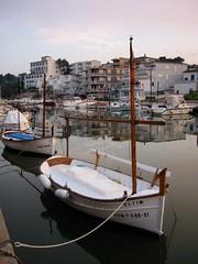 Reflections (DJ Greer) Tags: reflection de evening harbor boat spain calm porto mast cristo mallorca palma tranquil balearics