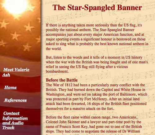 History of the US National Anthem