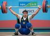 Poghosyan ARM (Rob Macklem) Tags: china men olympic 2009 lu 85kg olympicweightliftingkoreaworldchampionshipsgoyangcity