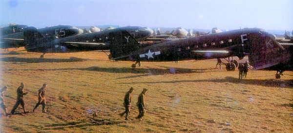 US Airborne troops at Saltby