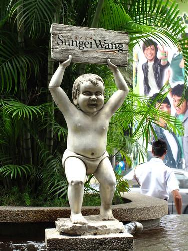 IMG_5023 Statue in front of Sungai Wang , Kuala Lumpur
