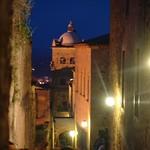 Cáceres: Adarve Santa Ana de noche