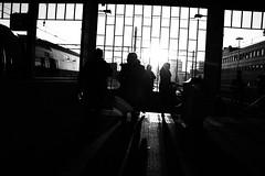 Ns station Eindhoven (Frank Niessen) Tags: city station train frank geotagged ns rail railway eindhoven tagged rails geo brabant trein nightphotograpy spoorwegen spoorweg niessen