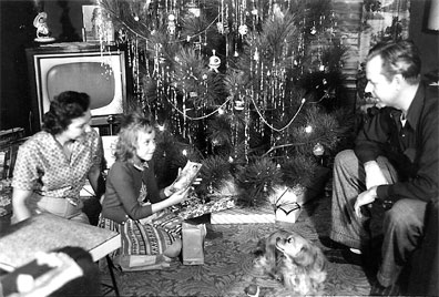 1950's Atomic Ranch House: 1950's Family Christmas Photos