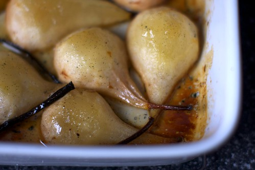 vanilla roasted pears | smitten kitchen
