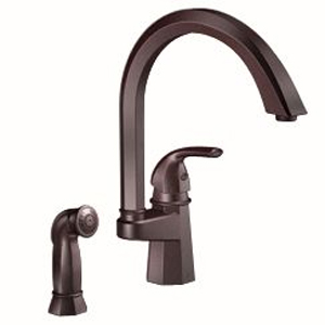 Moen-ShowHouse-S741ORB-Felicity-Single-Handle-Kitchen-Faucet-with-Matching-Side-Spray-Oil-Rubbed-1