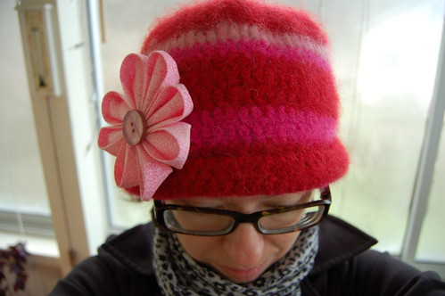 My Kanzashi Hat (Copyright Hanna Andersson)