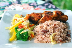 Rice and Peas in the mountains (Chennette) Tags: mountains restaurant cafe view thegap jamaica dining blueandjohncrownationalpark