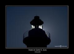Faro Capo S. Elia (Cagliari) (Photographando by Antonio Cuboni) Tags: sardegna faro lighthouses cagliari controluce fujis5pro caposelia rocchefariecastellicastleslighthosesbelltowers worldlighthousesociety fotocineclub2001