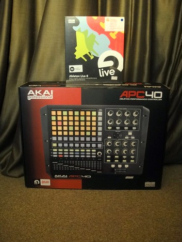 ABLETON LIVE + AKAI APC40
