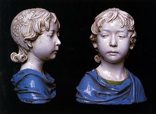 Andrea della Robbia, Fanciulla, 1475 ca. Firenze, collezione privata