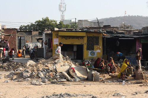 Slums of Jaipur