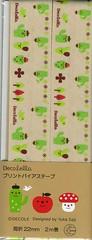 Cactus Bias Tape (This and That From Japan) Tags: cactus mushroom japan japanese designer tape ladybird ladybug trim bias decole decolello japanesebias yukasaji