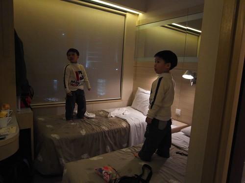 香港遠東帝豪酒店的房間