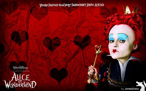 Alice in wonderland themes Windows 7 wallpaper