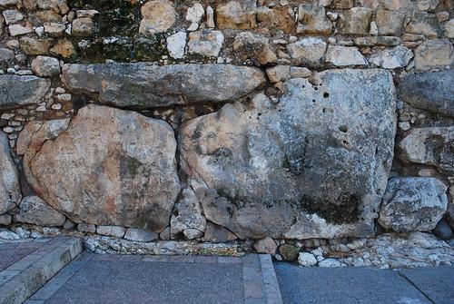 """""""Cyclopean"""" wall at Tarragona"""