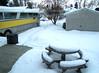 Yardal Warming (Dandelion Vicious) Tags: snow bus home yesh