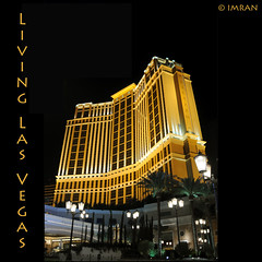 Living Las Vegas. Nice Cage, No Nic Cage - IMRAN  1800+ Views! 200 Comments! (ImranAnwar) Tags: travel trees vacation sky yellow architecture night square outdoors gold landscapes nikon lasvegas framed nevada landmarks tranquility casino palazzo 2009 imran lifestyles d300 otw imrananwar bej abigfave anawesomeshot rubyphotographer