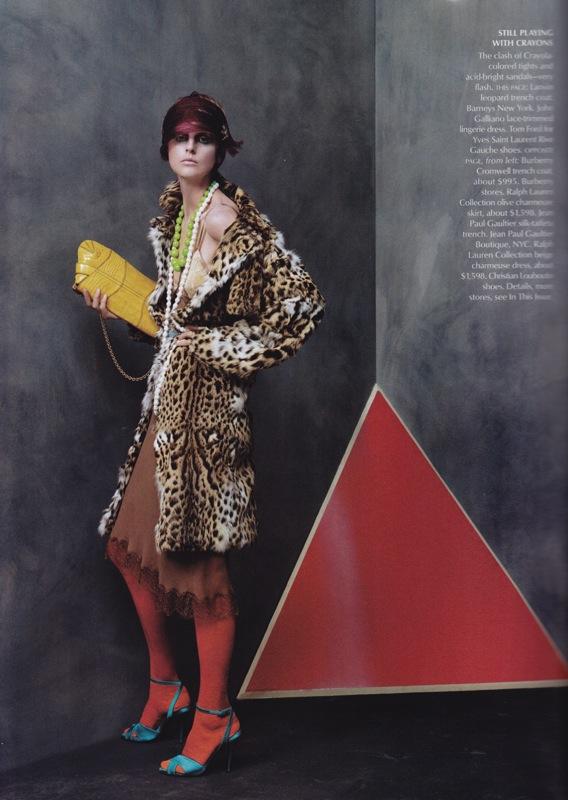 Vogue US Oct 2003 Steven Meisel 11