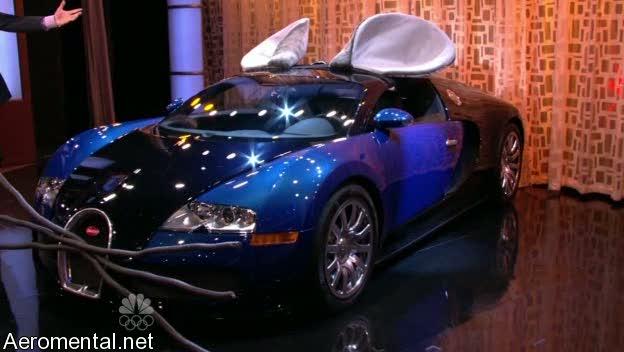 Bugatti Veyron ratón Conan