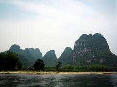 LiJiang river   漓江 (MelindaChan ^..^) Tags: china green water river guilin chinese hills mel melinda 漓江 lijiang 桂林 paintinglike chanmelmel melindachan