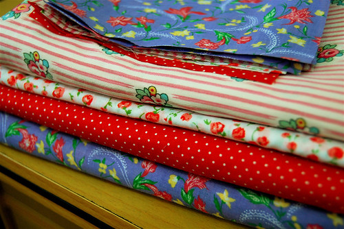 top up fabric squares