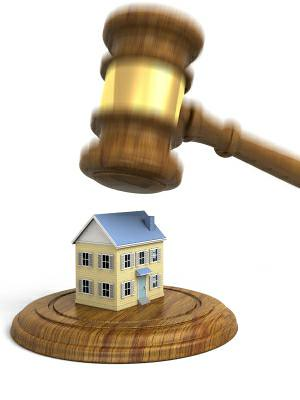 illegal foreclosure documents in court
