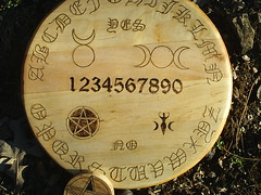 Ouija Board Wiccan Style (dragonoak) Tags: wicca wiccan ouijaboardseancecontactspiritsghostshauntinghaunted
