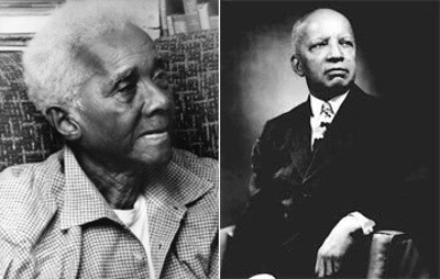 CLR James and Carter G. Woodson, pioneers in African historical studies. February is designated as African-American History Month in the United States. The holiday was started by Woodson in 1926. by Pan-African News Wire File Photos
