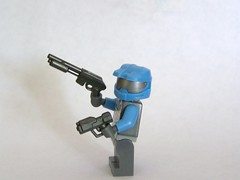 Gunmetal M47 and SMP (The Skull Bandit) Tags: brick art apple movie for tv call arms lego duty ghost engine halo artsy will prototype microsoft amelia trans build cod nerf trade bionicle proto prototypes chapman protos mw2 brickarms mw1