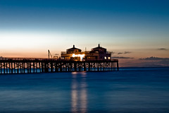 Malibu Pier (Emmanuel_D.Photography) Tags: ocean california blue orange beach sunrise canon asian pier losangeles los cool nice long exposure angeles awesome breath front malibu well explore page filipino taking popular fp frontpage tone emmanuel okay astig dasalla emmanueldasalla