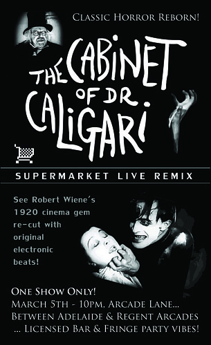 The Cabinet of Dr Caligari - Supermarket Remix