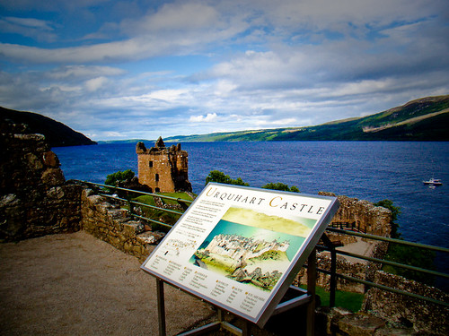 Welcome To Urquhart Castle