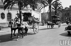 vamos al centro, avenida Blanco frente a la Escuela Militar (santiagonostalgico) Tags: chile parque santiago blanco urbano ohiggins antiguo patrimonio encalada cousio santiagonostalgico
