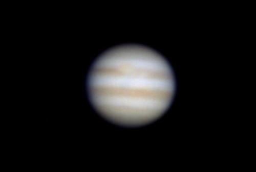 Jupiter Through a Telescope