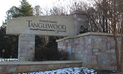 Tanglewood park entrance