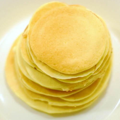 Your typical high-bokeh pancake stack.