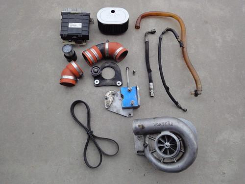 FS Vortech Supercharger Kit AMS OBD2 1800