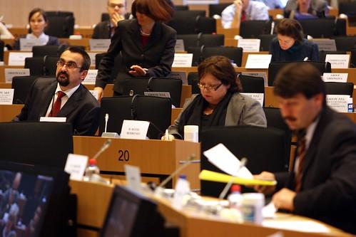 Brusel - Evropský parlament zasedání ENVI